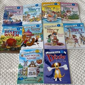 Bundle Reading Level 1 Books- Fancy Nancy and etc